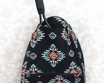Desert Diamond Personalized Tennis Backpack For Women Custom Tennis Gifts For Her Tennis Bag