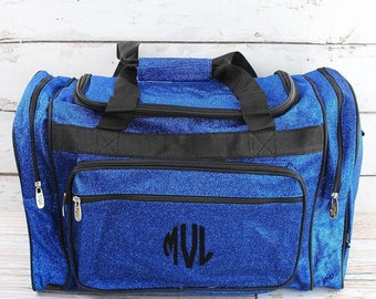 """Glitz & Glam Royal 20"""" Duffle Bag Cheer Bag Kids Duffle Bag Gym Bag Girlie Carry On"""