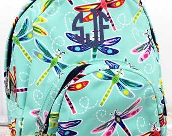 Dragonfly Away Preschool Backpack Mini Backpack Purse Backpack Toddler Diaper Bag Backpack Small Backpack