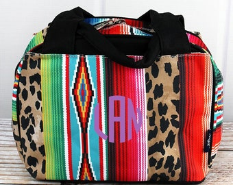 Wild Serape Insulated Lunch Box for School Lunch Bag for Women Lunch Bag for Nurse