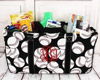 Baseball Eco Friendly Bag Farmers Market Bag Toy Basket