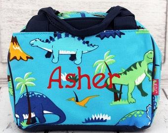 Dinosaur World Insulated Lunch Box for School Lunch Bag for Women Lunch Bag for Nurse