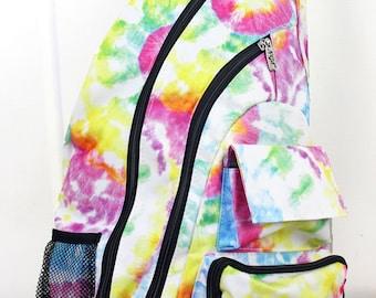 Daydream Believer Sling Backpack/ Sling Backpack for Hiking/ Sling Backpack Diaper Bag/ Diaper Bag for Dads/ Festival Backpack