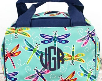 Dragonfly Away Insulated Lunch Box for School Lunch Bag for Women Lunch Bag for Nurse
