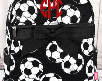 Soccer Quilted Preschool Backpack Mini Backpack Purse Toddler Diaper Bag Backpack Small Backpack