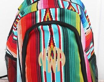 Southwest Serape Medium Backpack for Teens Backpack Kids