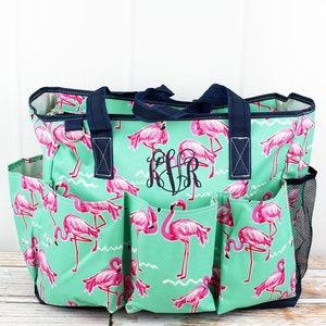 Preppy Under The Sea Diaper Bag Diaper Bag for Dad Nursing Bag Monogrammed Diaper Bag Personalized Diaper Bag Baby Shower Gift