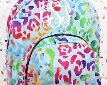 Chasing Rainbows Preschool Backpack Mini Backpack Purse Backpack Toddler Diaper Bag Backpack Small Backpack