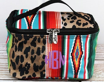 Wild Serape Top Lid Makeup Bag for Teen Girl Gifts Cosmetic Travel Case Cosmetic Bag Gift For Her