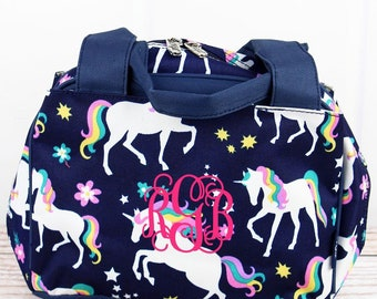 Unicorn Dreams Insulated Lunch Box for School Lunch Bag for Women Lunch Bag for Nurse