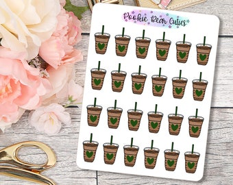 Iced Coffee Stickers -174