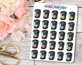 Keurig/Coffee Maker Stickers -031