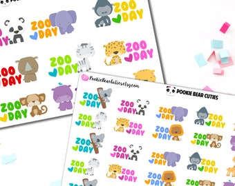 Zoo Day Stickers -028