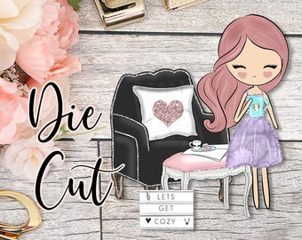 Die Cut- Cute Dolls- Cozy