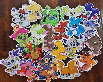 Digimon Vinyl Stickers
