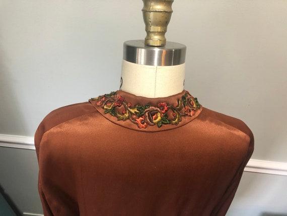 1920s Silk Day Dress - image 5