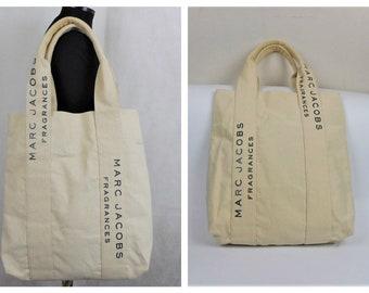 10f7b5555c23 Marc Jacobs Fragrances Canvas Tote Bag