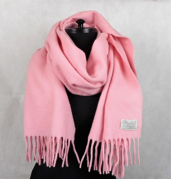 Pink Pure New Woll Scarf, Glenshiel for Prada Scar