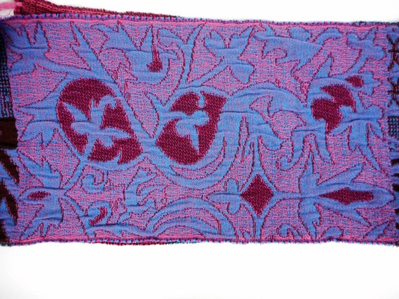 Kenzo  Scarf  Wool and Angora Colorful  Fringed L… - image 6