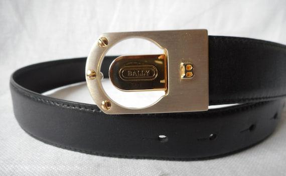 Ceinture BALLY broche boucle de ceinture cuir véritable   Etsy 6237d5a1e9a