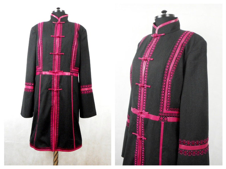 90afd3f4a93cf Women s Coat Jacket Shanghai Tang Wool leather
