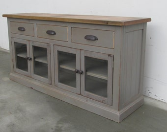 SALE, AVAILABLE NOW, Media Console, Sideboard, Reclaimed Wood, Buffet, Entertainment Console, Handmade