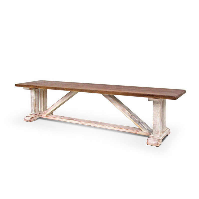 Sensational Bench Table Reclaimed Wood Dining Bench Rustic Handmade Pabps2019 Chair Design Images Pabps2019Com