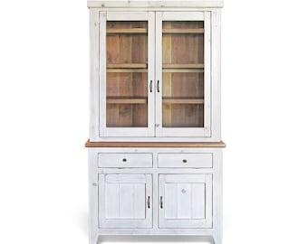 Sideboard, Hutch, Farmhouse, Reclaimed Wood, Buffet, China Cabinet, Handmade, Rustic