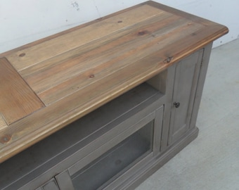 Media Console, TV Stand, Entertainment Center, Reclaimed Wood, Rustic, Console Cabinet