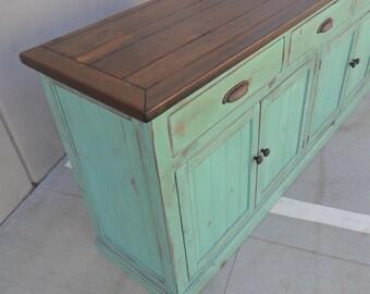 Sideboard, Server, Buffet, Reclaimed Wood, Rustic, Farmhouse, Shabby Chic