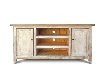 Media Console, Entertainment Console, TV Stand, Reclaimed Wood, Entertainment Center, Rustic, Handmade