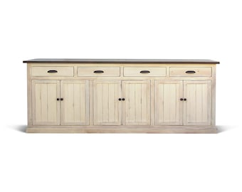 Sideboard, Media Console, Buffet, Reclaimed Wood, Farmhouse, Console Cabinet, Handmade, Rustic
