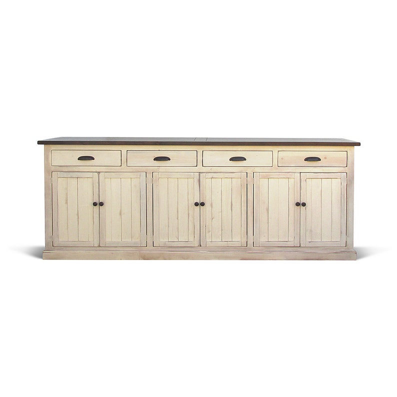 Sideboard Media Console Buffet Reclaimed Wood Farmhouse image 0