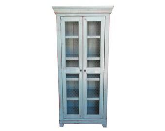 Bookcase, Wardrobe, China Cupboard, Bookshelves, Reclaimed Wood, Handmade