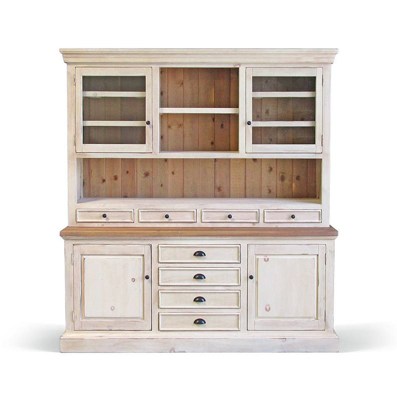 Strange Hutch Buffet Sideboard Reclaimed Wood Farmhouse China Cabinet Handmade Rustic Download Free Architecture Designs Scobabritishbridgeorg