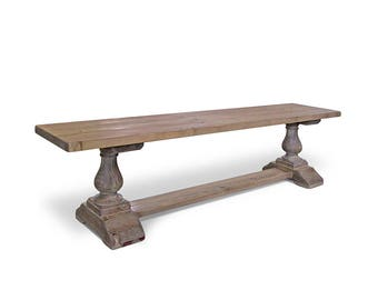 Bench, Farmhouse Bench, Entryway Bench, Reclaimed Wood, Wood Bench, Handmade, Rustic