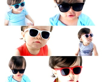08094eacf20 Kd3006 infant baby Toddlers 0~2 year old 80s Hipster retro Vintage 80s  Sunglasses classic Glasses urban kids children Boys Girls