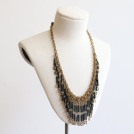 Vintage 1930's necklace vintage 1930's gold chain… - image 2