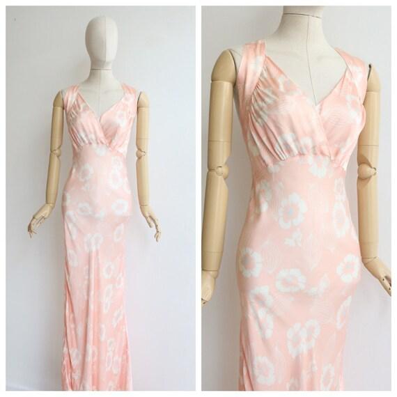 Vintage 1930's dress original 1930's floral dress