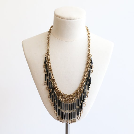 Vintage 1930's necklace vintage 1930's gold chain… - image 1