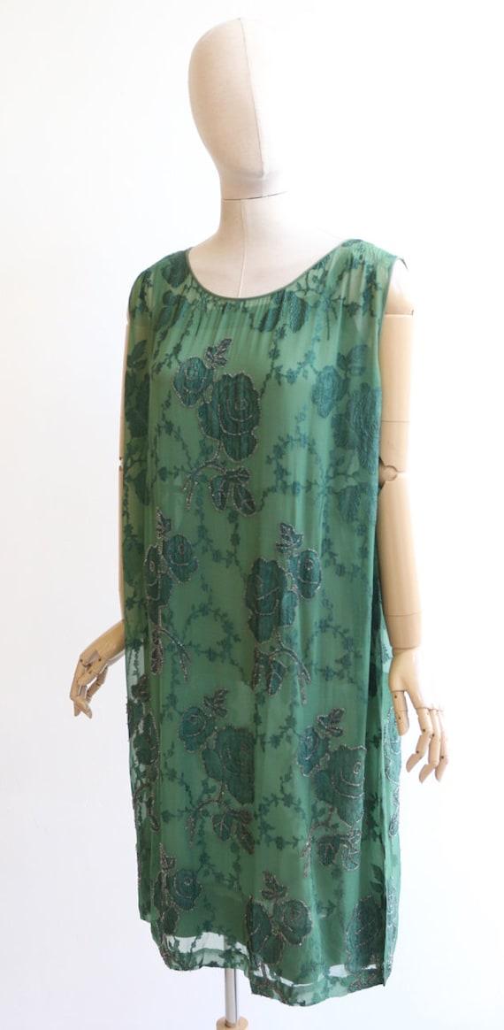 Vintage 1920's dress vintage 1920's flapper dress… - image 7