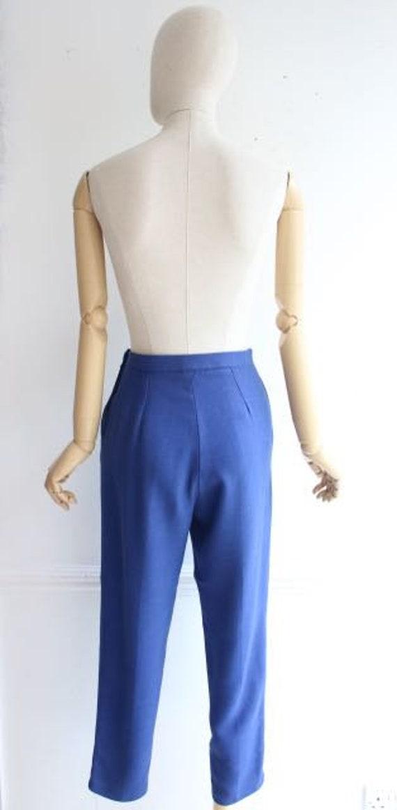 Vintage 1950's trousers 1950's linen trousers peg… - image 6