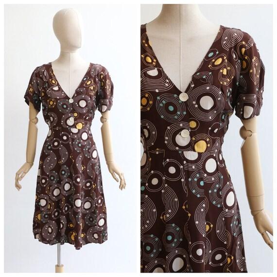 vintage 1940's dress vintage 1940's silk dress ori