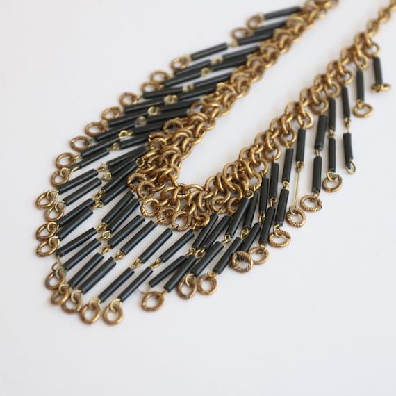 Vintage 1930's necklace vintage 1930's gold chain… - image 6