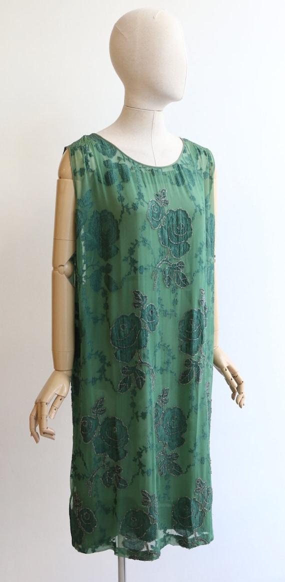 Vintage 1920's dress vintage 1920's flapper dress… - image 6