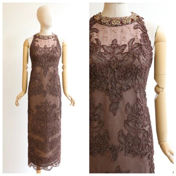 Vintage 1960's Neymar couture dress vintage 1960's