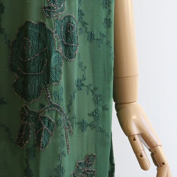 Vintage 1920's dress vintage 1920's flapper dress… - image 5