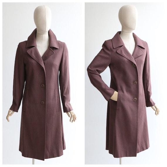 Vintage 1960's coat vintage 1960's spring coat ori