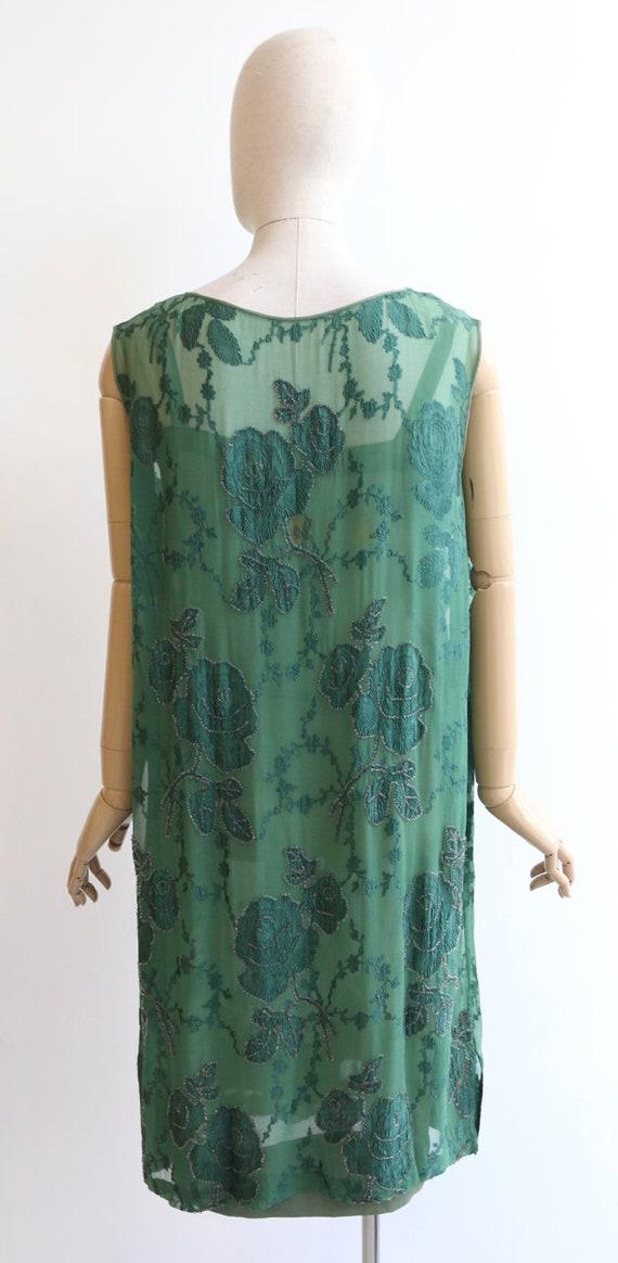 Vintage 1920's dress vintage 1920's flapper dress… - image 8