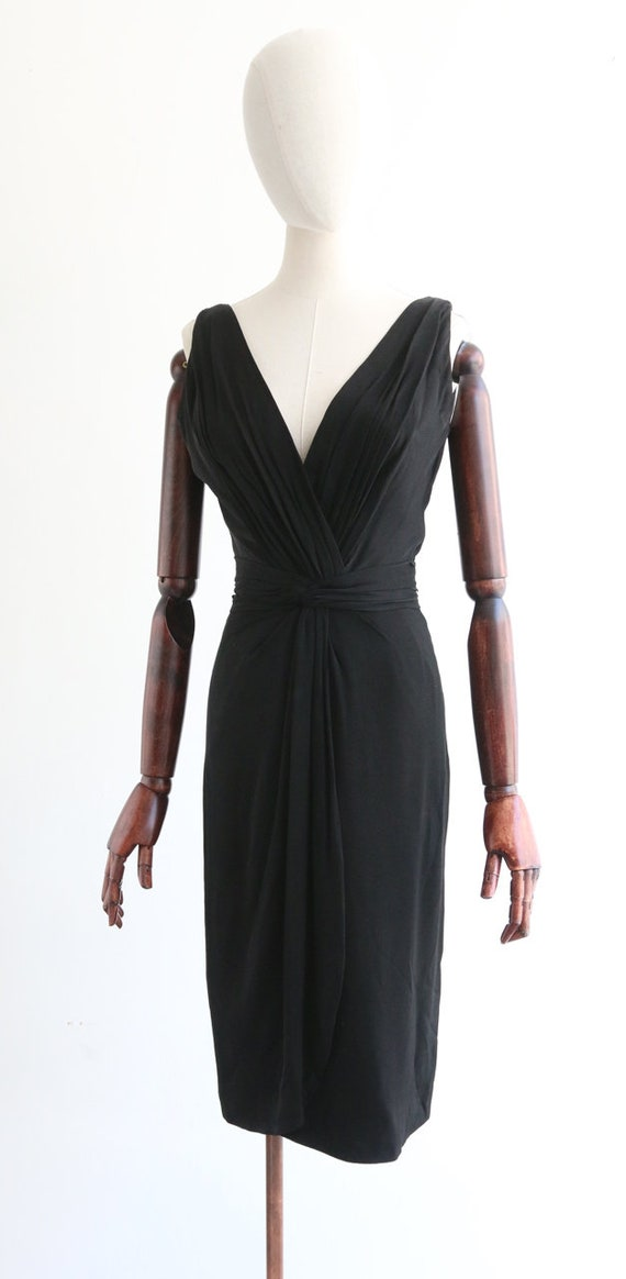 Vintage 1950's Ceil Chapman Dress Vintage 1950's … - image 7